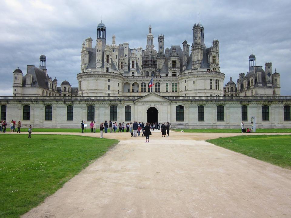 Kastil Chambord di Lembah Loire